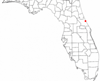 Location of South Daytona, Florida