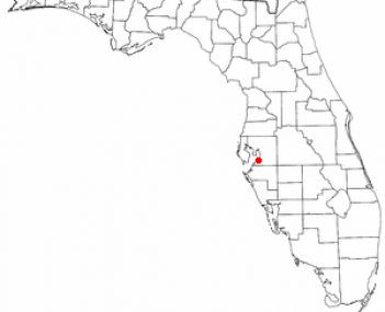 Location of Ruskin, Florida
