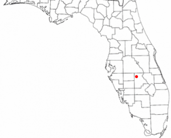 Location of Sebring, Florida