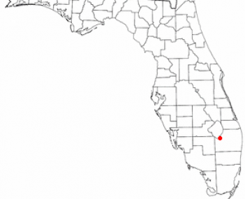 Location of South Bay, Florida