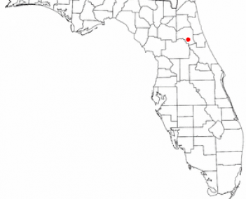 Location of Welaka, Florida
