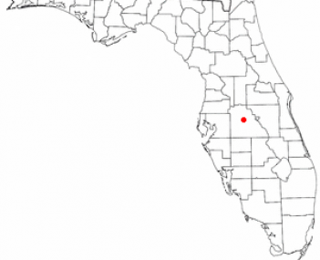 Location of Winter Haven, Florida