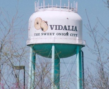 Vidalia's water tower