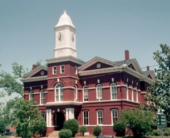 Pike County Georgia Courthouse
