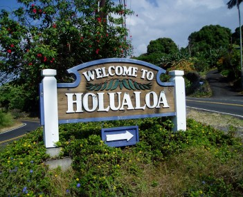 View of Holualoa