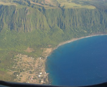 View of Kalaupapa
