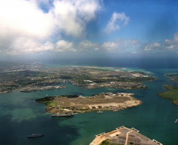 View of Pearl Harbor
