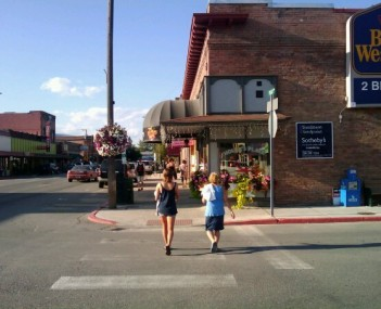 Downtown Sandpoint, ID