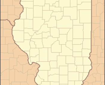 Location of Mendon within Illinois