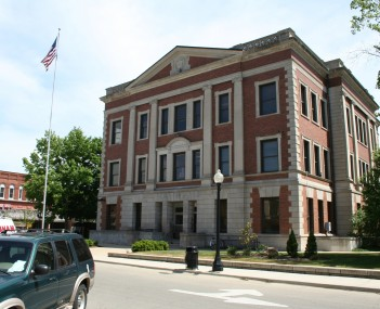 Piatt County Illinois Courthouse in Monticello