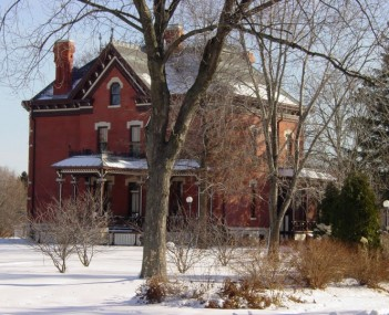 Martin-Mitchell Mansion - Naper Settlement - Naperville Illinois