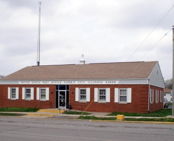 Norris City Post Office 2008