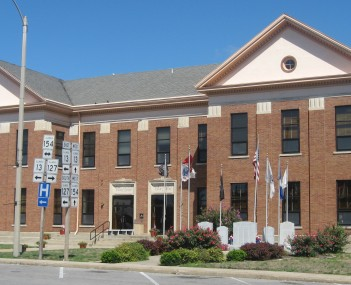 The Perry County Courthouse in Pinckneyville