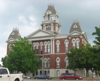 Shelby County Courthouse in Shelbyville