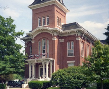 Old Iroquois County Courthouse in Watseka