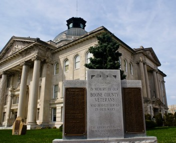 Boone County Indiana Courthouse