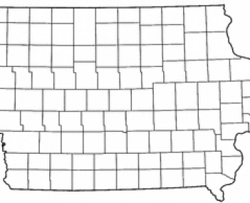Location in the State of Iowa