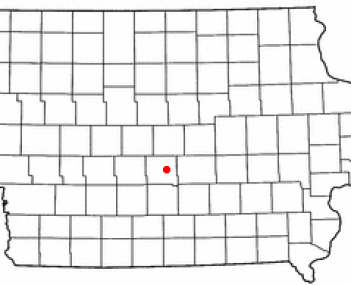 Location of Bondurant, Iowa