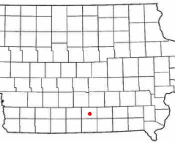 Location of Chariton, Iowa