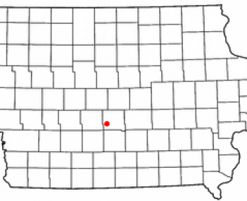 Location of Clive, Iowa