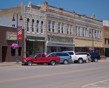 Grinnell Iowa - downtown