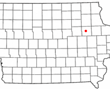 Location of Independence, Iowa
