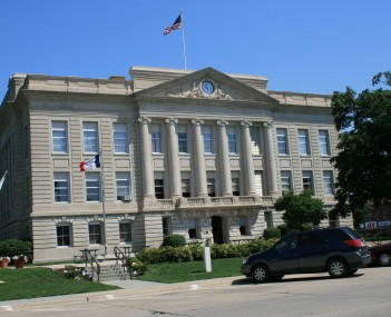 Greene County Courthouse in Jefferson