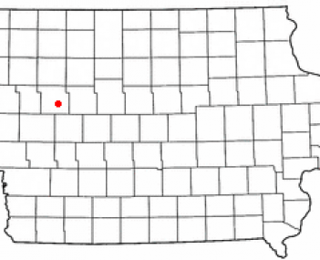 Location of Lake View, Iowa