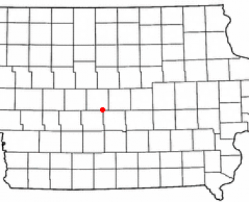 Location of Madrid, Iowa