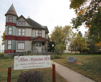 Allee Mansion is listed on the National Register of Historic Places