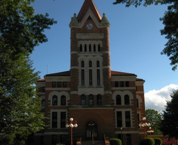 Sioux County Courthouse in Orange City