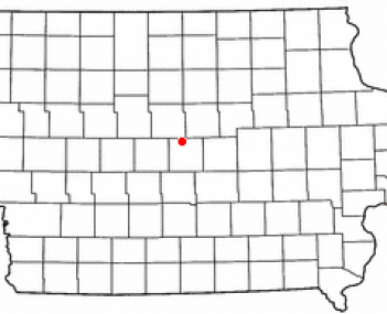 Location of Roland, Iowa