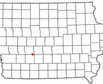 Location of Stuart, Iowa