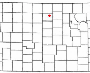 Location of Beloit, Kansas