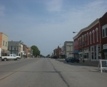 Main street in Eureka