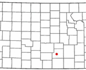 Location of Goddard, Kansas