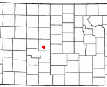 Location of Great Bend, Kansas