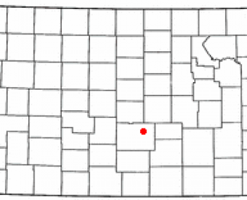 Location of Hutchinson, Kansas