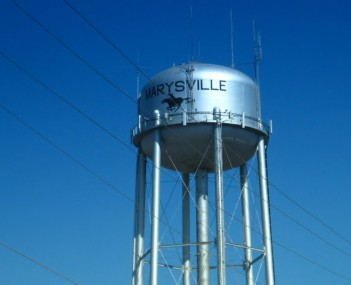 Watertower marysville kansas 2009
