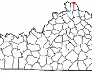 Location of Fort Thomas, Kentucky