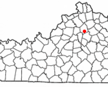 Location of Georgetown, Kentucky