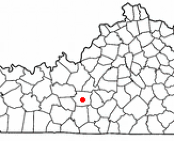 Location of Munfordville, Kentucky