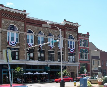 Historic District in downtown Owensboro