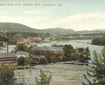 View of Hallowell