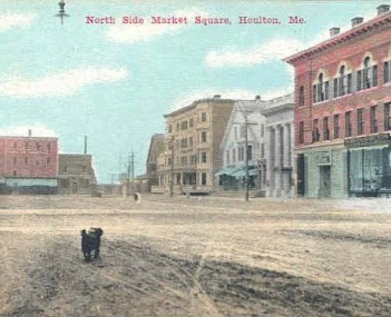 North Side Market Square Houlton ME
