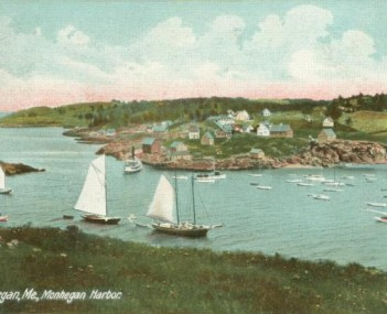 View of Monhegan