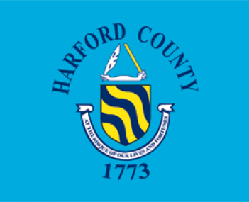 Flag of Harford County Maryland