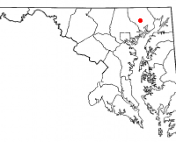 Location of Bel Air South, Maryland