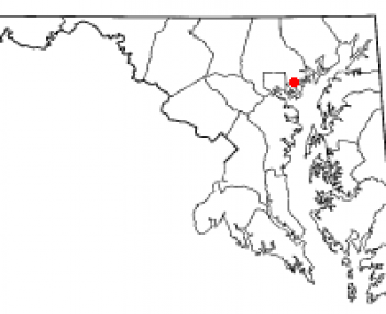 Location of Essex, Maryland