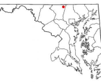 Location of Manchester, Maryland